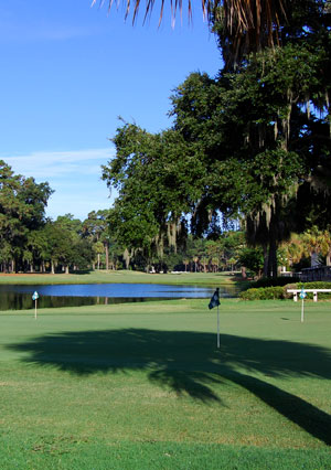 Wilmington Island Club Practice Green